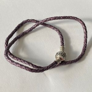 Pandora Double Wrap Rope Bracelet